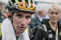Roman Kreuziger (CZE/Mitchelton Scott) after finishing 2nd4 in the 53th Amstel Gold Race (1.UWT)<br /> 1 Day Race: Maastricht &gt; Berg en Terblijt (263km)