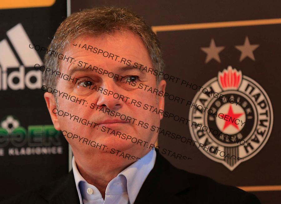 Fudbal Jelen Super League season 2014-2015<br /> FK Partizan-Pripreme Prolece<br /> Ljubisa Tumbakovic<br /> Beograd, 12.01.2015.<br /> foto: Srdjan Stevanovic/Starsportphoto&copy;