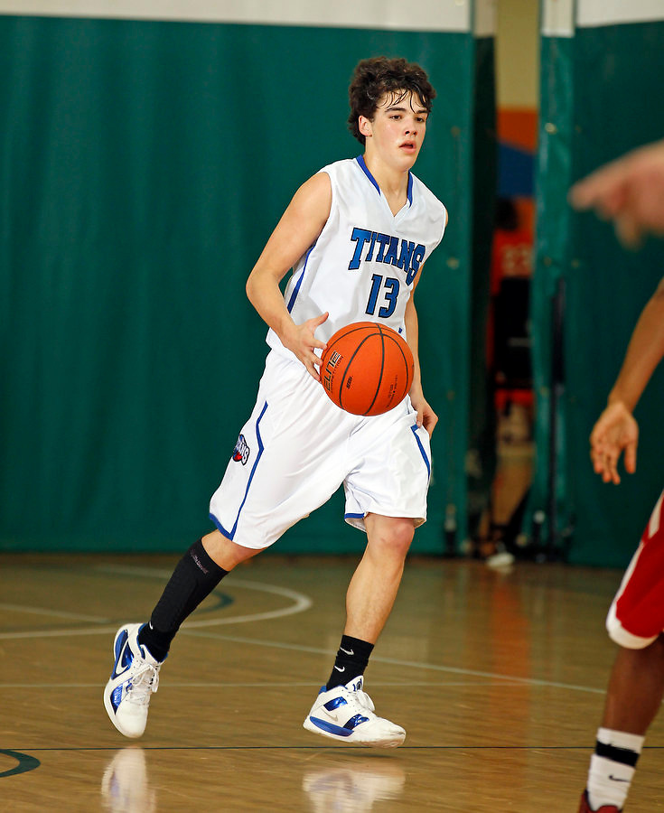 April 10, 2011 - Hampton, VA. USA;  Preston Troutt participates in the 2011 Elite Youth Basketball League at the Boo Williams Sports Complex. Photo/Andrew Shurtleff