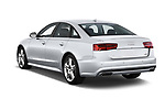 Car pictures of rear three quarter view of 2016 Audi A6  TDI quattro tiptronic Prestige  4 Door Sedan angular rear