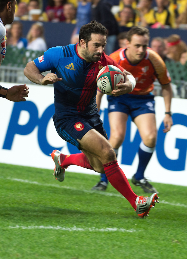 France vs Japan Hong Kong Rugby 7's.27.03.15. 27th March 2015.