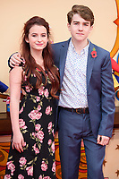 Madeleine Harris and Samuel Joslin at the &quot;Paddington 2&quot; premiere at the NFT South Bank, London, UK. <br /> 05 November  2017<br /> Picture: Steve Vas/Featureflash/SilverHub 0208 004 5359 sales@silverhubmedia.com