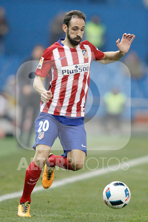 Atletico de Madrid's Juanfran Torres during Spanish Kings Cup match. January 27,2016. (ALTERPHOTOS/Acero)
