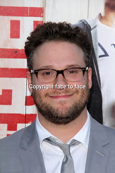 WESTWOOD, CA - April 28: Seth Rogen at the &quot;Neighbors&quot; World Premiere, Village Theater, Westwood, April 28, 2014.<br />