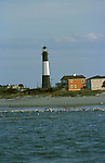GA, Georgia, Tybee Island, lighthouse, 2005 .Image: gatybee106..Photo Copyright: Lee Foster, lee@fostertravel.com, www.fostertravel.com, (510) 549-2202.