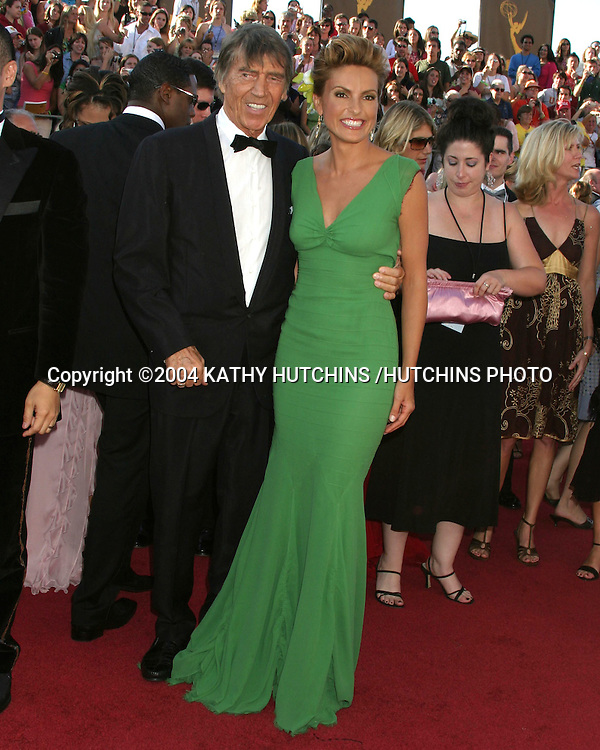 ©2004 KATHY HUTCHINS /HUTCHINS PHOTO.56TH ANNUAL PRIMETIME EMMY'S.SHRINE AUDITORIUM.LOS ANGELES, CA.SEPTEMBER 19, 2004..MARISKA HARGITAY.ESCORTED BY HER FATHER MICKEY HARGITAY