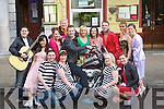 ARRIVING: Chad arrives and shake up Tralee on Good Friday in conjuction with the Tralee Musicial Socity for their forth coming musical All Shook Up,  outside the Grand Hotel, Tralee. ................................................................. ........