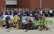 Bentonville West Ignite crash simulation 4/5/2018