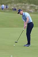 Connor Syme (SCO) during a practice round ahead of the 148th Open Championship, Royal Portrush Golf Club, Portrush, Antrim, Northern Ireland. 16/07/2019.<br /> Picture David Lloyd / Golffile.ie<br /> <br /> All photo usage must carry mandatory copyright credit (© Golffile | David Lloyd)
