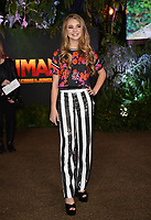Tegan Marie at the Los Angeles premiere of &quot;Jumanji: Welcome To the Jungle&quot; at the TCL Chinese Theatre, Hollywood, USA 11 Dec. 2017<br /> Picture: Paul Smith/Featureflash/SilverHub 0208 004 5359 sales@silverhubmedia.com