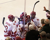 Tariq Hammond (DU - 3), Troy Terry (DU - 19), Michael Davies (DU - 21), Jarid Lukosevicius (DU - 14), Dylan Gambrell (DU - 7) - The University of Denver Pioneers defeated the University of Minnesota Duluth Bulldogs 3-2 to win the national championship on Saturday, April 8, 2017, at the United Center in Chicago, Illinois.