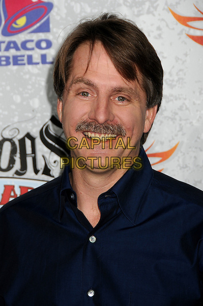 JEFF FOXWORTHY.Comedy Central Roast of Larry The Cable Guy at the Warner Brothers Studios, Burbank, California, USA..March 1st, 2009.headshot portrait blue moustache mustache facial hair .CAP/ADM/BP.©Byron Purvis/AdMedia/Capital Pictures.