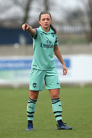 Katie McCabe of Arsenal during West Ham United Women vs Arsenal Women, FA Women's Super League Football at Rush Green Stadium on 6th January 2019