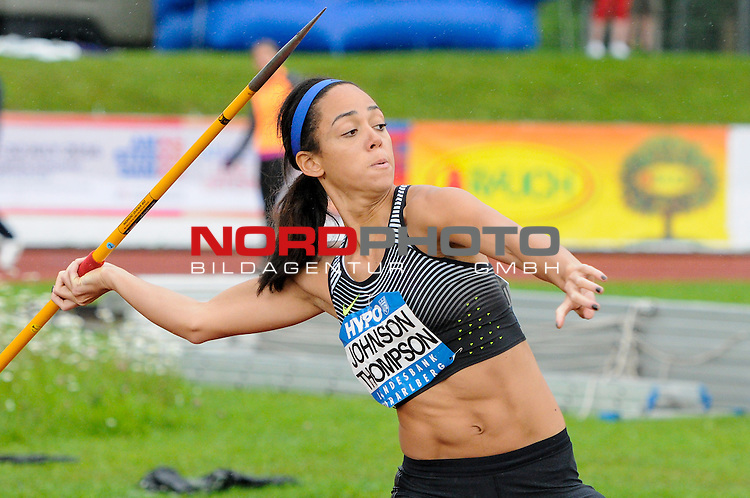 29.05.2016, Moesle - Stadion, Goetzis, AUT, Hypomeeting 2016, im Bild Speer / Javelin Throw, <br /> Katerina Johnson-Thompson (#52, GBR)<br /> <br /> Foto &copy; nordphoto / Hafner