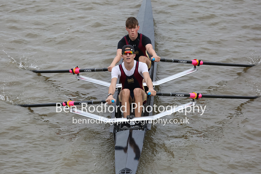 Crew: 148   NSC-TREMELLING-2    Norwich School Boat Club    Op J18 2x Fresher <br /> <br /> Pairs Head 2017<br /> <br /> To purchase this photo, or to see pricing information for Prints and Downloads, click the blue 'Add to Cart' button at the top-right of the page.