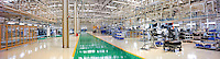 Car production inside the factory of of Honda Automobile (China) Co. Ltd. in Guangzhou, China. Guangzhou Honda Automobile Co., Ltd. was established on 1, July 1998, joint-ventured between Guangzhou Automobile Group and Honda Motor Co. Ltd