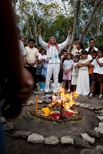 Guatemala, Petén, Indigenous group Itza once had a big representation in Yucatan. Today the last tousand Itzas live  at lake Itza at the edge of the Mayan Biosphere Reserve. There are only 17 fluent speakers left, ceremony on 13 of March, Day of the Itza,
