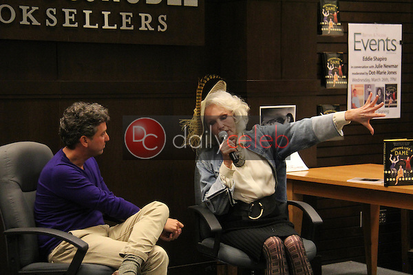 Eddie Shapiro, Julie Newmar<br />