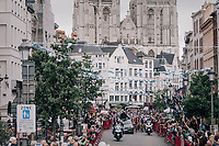 race start under the mighty Antwerp cathedral<br /> <br /> 2017 National Championships Belgium - Elite Men - Road Race (NC)<br /> 1 Day Race: Antwerpen &gt; Antwerpen (233km)
