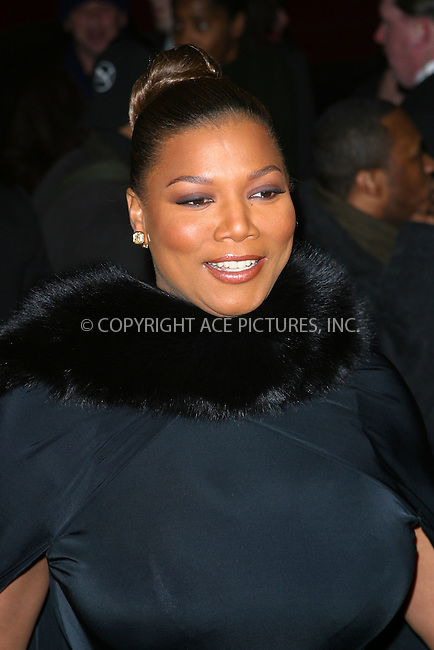"""Queen Latifah arrives at the special screening of """"Chicago."""" New York, December 18, 2002. Please byline: NY Photo Press. REF: M19 -- THIS REFERENCE CODE MUST APPEAR ON YOUR SALES REPORT, THANK YOU.....*PAY-PER-USE*      ....NY Photo Press:  ..phone (646) 267-6913;   ..e-mail: info@nyphotopress.com"""