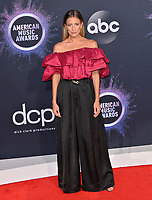 LOS ANGELES, USA. November 25, 2019: Renee Bargh at the 2019 American Music Awards at the Microsoft Theatre LA Live.<br /> Picture: Paul Smith/Featureflash