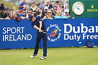 Grant Forrest (SCO) tees off the 18th tee during Sunday's Final Round of the Dubai Duty Free Irish Open 2019, held at Lahinch Golf Club, Lahinch, Ireland. 7th July 2019.<br /> Picture: Eoin Clarke | Golffile<br /> <br /> <br /> All photos usage must carry mandatory copyright credit (© Golffile | Eoin Clarke)