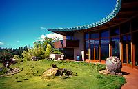 Frank Lloyd Wright Hemicycle home built in Waimea on the Big island of Hawaii