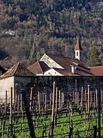 Kloster Maria Steinach, Algund-Lagundo, Provinz Bozen &ndash; S&uuml;dtirol, Italien<br /> Monastery Maria Steinach, Algund-Lagundo, province Bozen-South Tyrol, Italy