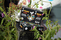 Pictured: Boxes of seeds by Kew Saturday 13 August 2016<br />Re: Grow Wild event at  Furnace to Flowers site in Ebbw Vale, Wales, UK