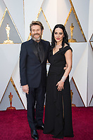 Oscar&reg; nominee for Best Supporting Actor, Willem Dafoe and Giada Colagrande arrive on the red carpet of The 90th Oscars&reg; at the Dolby&reg; Theatre in Hollywood, CA on Sunday, March 4, 2018.<br /> *Editorial Use Only*<br /> CAP/PLF/AMPAS<br /> Supplied by Capital Pictures