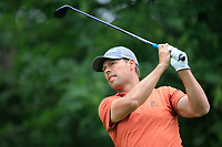 Michael Lundberg (SWE) in action during the first round of the Shot Clock Masters, played at Diamond Country Club, Atzenbrugg, Vienna, Austria. 07/06/2018<br /> Picture: Golffile | Phil Inglis<br /> <br /> All photo usage must carry mandatory copyright credit (&copy; Golffile | Phil Inglis)