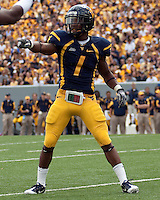 September 4, 2010: WVU wide receiver Tavon Austin. The West Virginia Mountaineers defeated the Coastal Carolina Chanticleers 31-0 on September 4, 2010 at Mountaineer Field, Morgantown, West Virginia.