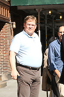 May 17, 2012: Andy Richter at Late Show with David Letterman to talk about Conan talk show in New York City. Credit: RW/MediaPunch Inc.