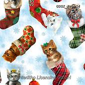 GIORDANO, GIFT WRAPS, GESCHENKPAPIER, PAPEL DE REGALO, Christmas Santa, Snowman, Weihnachtsmänner, Schneemänner, Papá Noel, muñecos de nieve, paintings+++++Fireside Kitties Stocking Toss,USGIPROV14,#gp#,#x# ,cat,cats