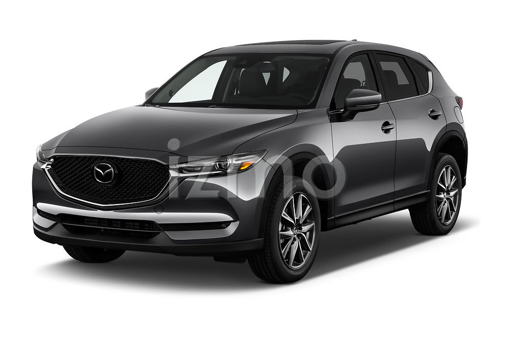 2017 Mazda CX-5 Grand-Touring 5 Door SUV Angular Front stock photos of front three quarter view
