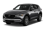 2018 Mazda CX-5 Grand-Touring 5 Door SUV Angular Front stock photos of front three quarter view
