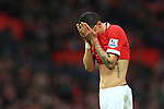 Angel di Maria of Manchester United looks dejected - Manchester United vs. Sunderland - Barclay's Premier League - Old Trafford - Manchester - 28/02/2015 Pic Philip Oldham/Sportimage