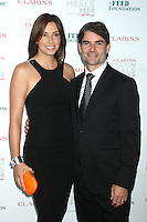 May 30, 2012 Ingrid Vandebosch and Jeff Gordon at the Clarins Million Meals Concert for Feed at Alice Tully Hall, Lincoln Center in New York City. © RW/MediaPunch Inc.