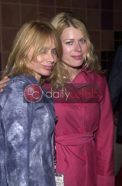 Rosanna Arquette and Amanda De Cadenet