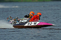 92-W and 1-US  (Outboard Runabouts)