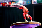 Yumika Nakamura (JPN), <br /> AUGUST 21, 2018 - Artistic Gymnastics : <br /> Women's Individual All-Around Vault <br /> at JIEX Kemayoran Hall D <br /> during the 2018 Jakarta Palembang Asian Games <br /> in Jakarta, Indonesia. <br /> (Photo by Naoki Nishimura/AFLO SPORT)