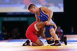 Glasgow 2014 Commonwealth Games<br /> Craig Pilling v Omar Tafail<br /> SECC<br /> 29.07.14<br /> &copy;Steve Pope-SPORTINGWALES