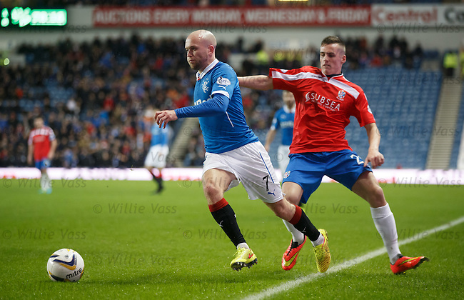 Nicky Law and Craig Johnstone