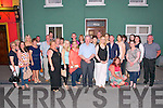 30th  Birthday :Breda Daly, Listowel celebrating his 30th birthday with family & friends at The Saddle Bar, Listowel on Saturday night last.
