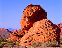 Valley of Fire State Park, NV    <br /> The Beehives - weathered Navajo Sandstone formations
