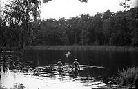 berlino, laghi a est della città --- berlin, lakes east of town