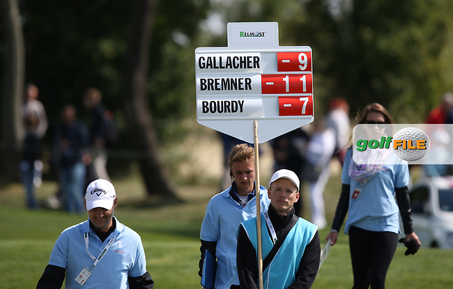The Albatross course has similarities to the Copperleaf course integrated with housing much to the liking of Merrick Bremner (RSA) who resides and plays there, demonstrated by his challenge for the lead with a 32 on the front nine, during the Final Round of the D&D Real Czech Masters 2014 from the Albatross Golf Resort, Vysoky Ujezd, Prague. Picture:  David Lloyd / www.golffile.ie