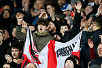 Sheffield United fans during the Premier League match at Carrow Road, Norwich. Picture date: 8th December 2019. Picture credit should read: James Wilson/Sportimage