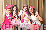 Leitrim Rose Edwina Guckian pictured with her Rosebud Holly Galvin and Monaghan Rose Eleanor Mcquaid pictured with her Rosebud Kate Kelly at the Carlton Hotel at the Rose of Tralee on Friday.