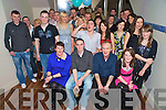 Damien Fleming, Ballydunlea, Ballyher, Killarney, pictured with his parents Marie and David, brother Shane, sisters Lisa and Tracey, family and friends, as he celebrated his 21st in McSorleys, Killarney, on Saturday night.